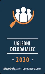 Ugledni delodajalec 2020 logo